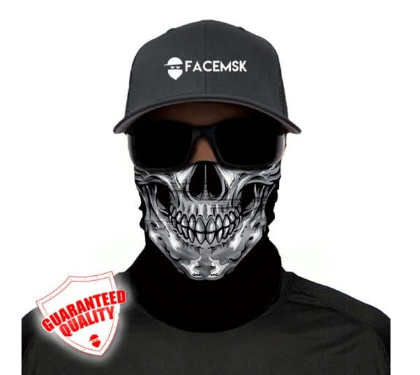 Skull Head Face Mask - Face Shield