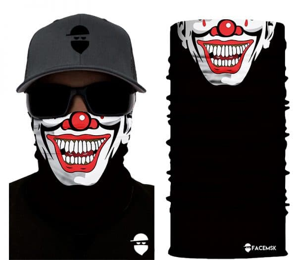 Crafty Clown Face Mask - Face Shield