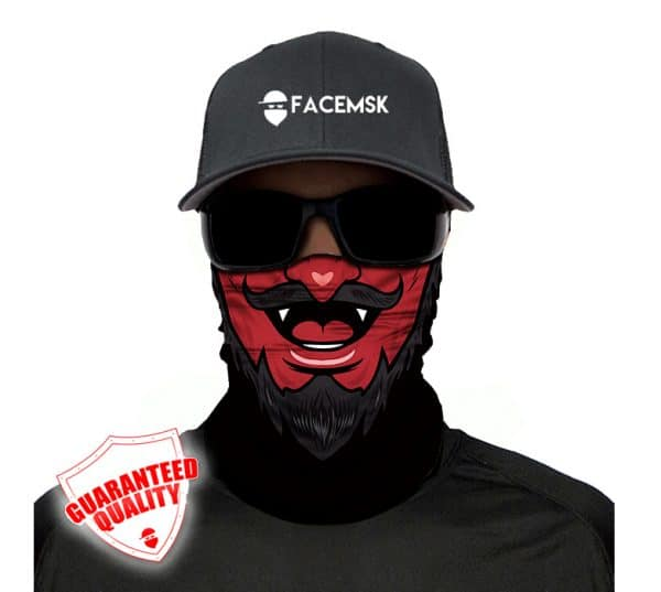 Devil Face Mask - Face Shield