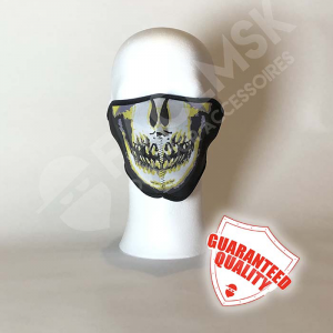 Dirty Skull Neoprene Half Face Mask