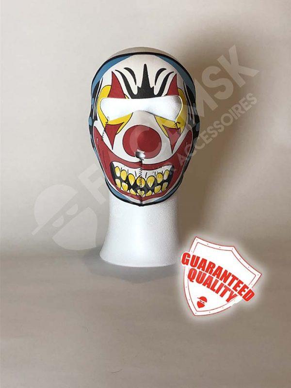 Evil Clown Neopreen Full Face Mask