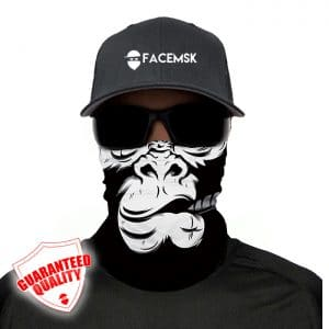 Smoking Gorilla Face Mask - Face Shield