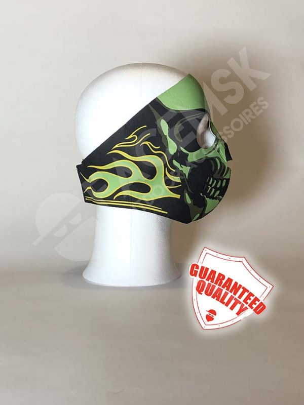 Flaming Gas Mask Neopreen Full Face Mask