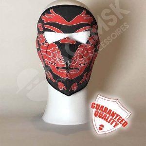 Flare Skull Neopreen Full Face Mask