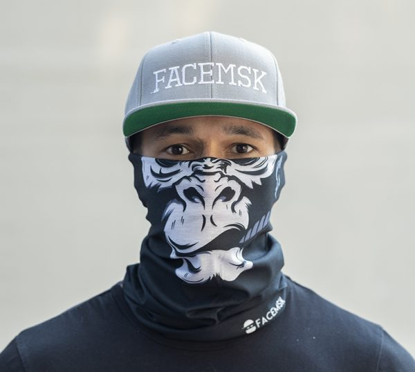 Smoking Gorilla FaceMSK Mask
