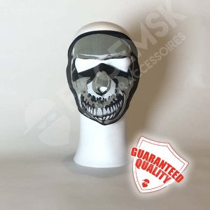 Mutilated Skull Neopreen Full Face Mask