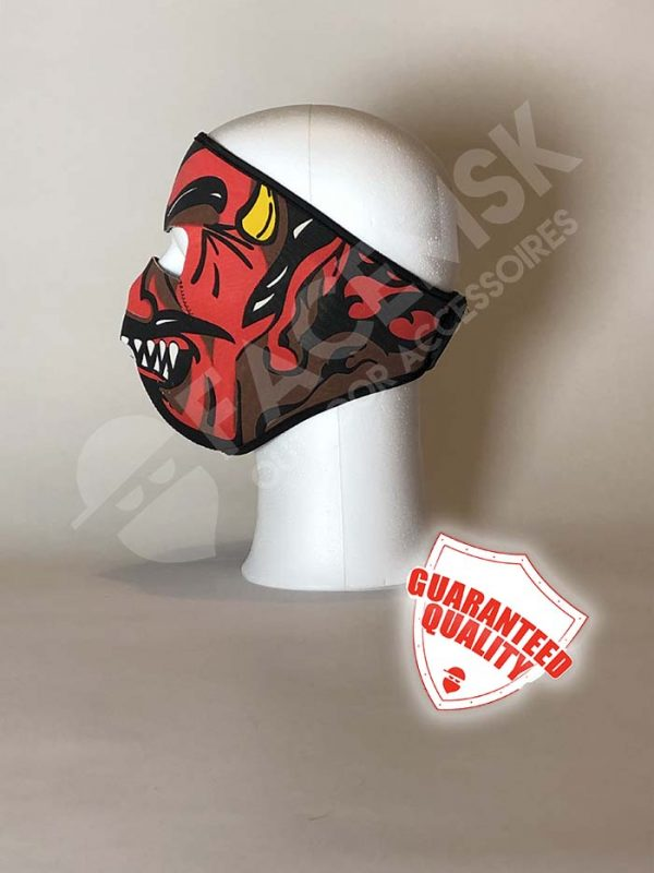 Red Devil Neopreen Full Face Mask