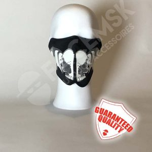 Skull Wings Neoprene Half Face