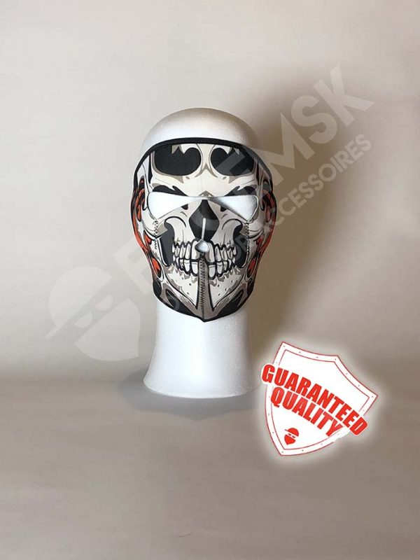 Tribal Skull Neopreen Full Face Mask