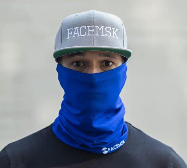 Tactical Blue Face Mask - Face Shield