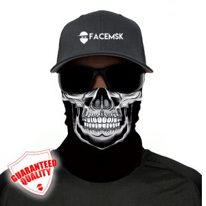 Masters Skull Face Mask - Face Shield