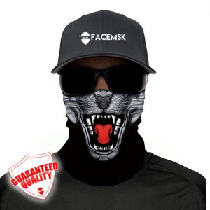 Panther Face Mask - Face Shield