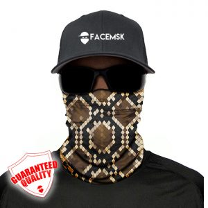 Snake Skin Face Mask - Face Shield