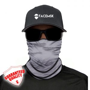 Tactical Grey Face Mask - Face Shield