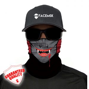 Vampire Face Mask - Face Shield