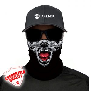Wolf Face Mask - Face Shield