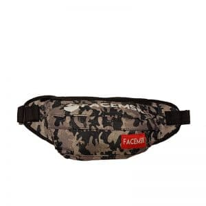 Grey Camo Fanny Pack - Product image