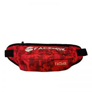 Red Camo Fanny Pack - Product image