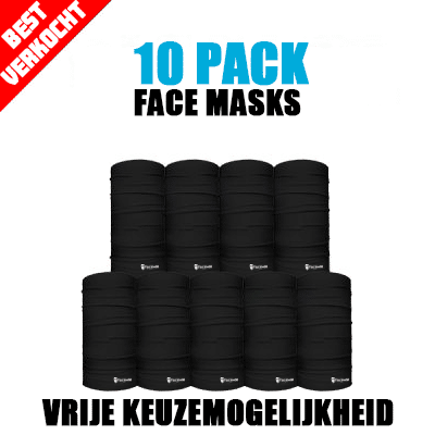 10-Pack Face Mask Deal