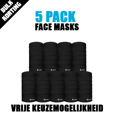 5-Pack Face Mask Deal