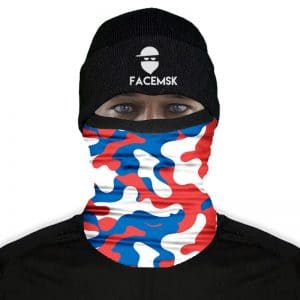Dutch Military Camo Fleece Buff - Fleece Mask