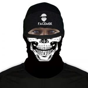 Rebel Skull Face Mask - Nekwarmer